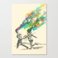 Emanate Canvas Print