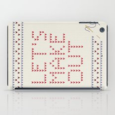 Let's make out iPad Case