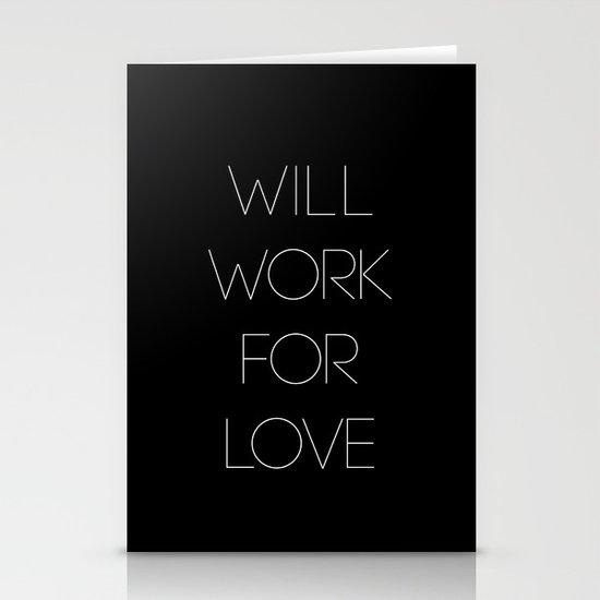 i will. Stationery Card