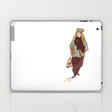 Girl and a Tuque Laptop & iPad Skin