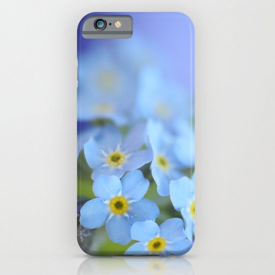 Forget Me Not iPhone & iPod Case