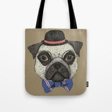 Mr Pug Tote Bag