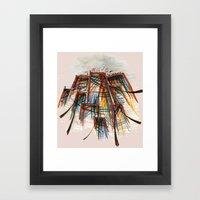 The City Pt. 5 Framed Art Print