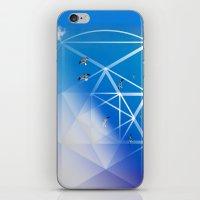 Gulls In Hexagram Flight iPhone & iPod Skin