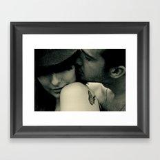 Let's Elope [self] Framed Art Print