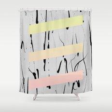 blocks #4 Shower Curtain