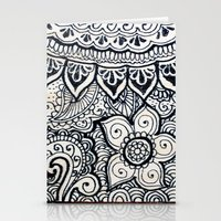 Four sides of a box (i) Stationery Cards