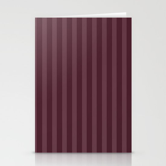 Vertical Stripes Stationery Card