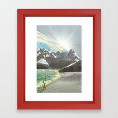 Mondi nuovi Framed Art Print