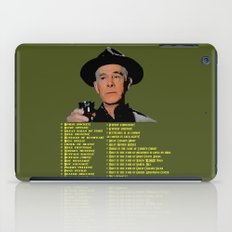 Sherman Potterisms iPad Case
