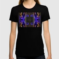 City Synthesis Womens Fitted Tee Black SMALL