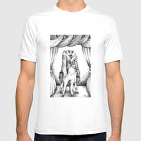 Haunted Clothing- The Coat of a Thousand Young Mens Fitted Tee White SMALL