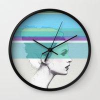 Cold Portrait Wall Clock