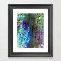 Enchanted Bunny Beats The Burst Framed Art Print