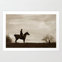 After long day.. Art Print