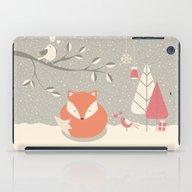 Christmas Baby Fox 06 iPad Case