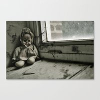 Crack Baby Canvas Print