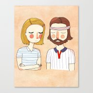 Secretly In Love Canvas Print
