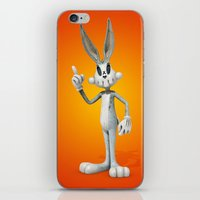 Skull Bunny iPhone & iPod Skin