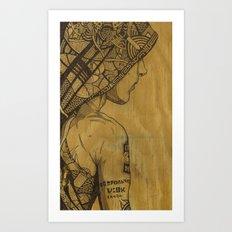 Destruction Vs Creation Art Print