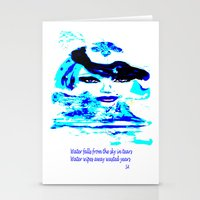 Water Women_02 Stationery Cards