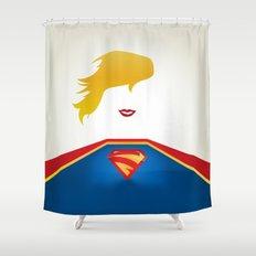 SUPERGIRL Shower Curtain
