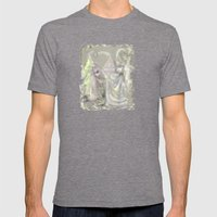 Faerie Girls Mens Fitted Tee Tri-Grey SMALL