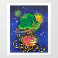 Tend To Your Baobabs Art Print