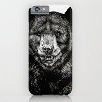 iPhone & iPod Case featuring Bear by Sebastian Gomez de la Torre