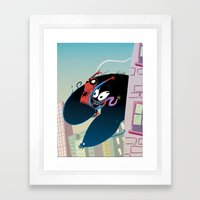 Sunday Swinging Framed Art Print