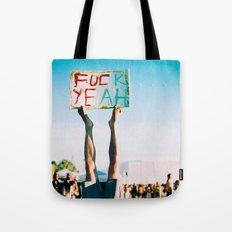 F Yeah Tote Bag