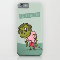 iPhone & iPod Case featuring I Just Ate My Last Friend by Monkey Chow
