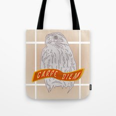 Falcon Carpe Diem Tote Bag