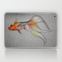 Goldfish Pond (close up #6) Laptop & iPad Skin