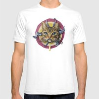 Sourpuss | Collage Mens Fitted Tee White SMALL