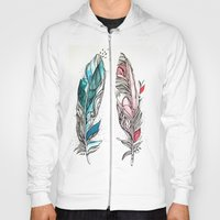 You & Me Feathers Hoody