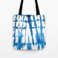 Shibori Lines Tote Bag