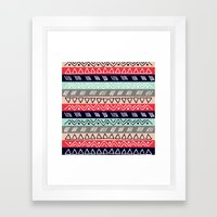 Pattern TRE Framed Art Print