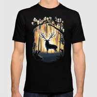 Master of the Forest Mens Fitted Tee Black SMALL