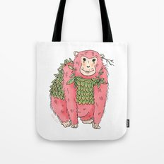 Peachtree The Chimp in Red Tote Bag