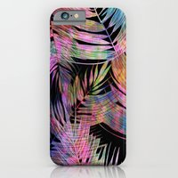 iPhone Cases featuring Waikiki Tropic {Black} by Schatzi Brown