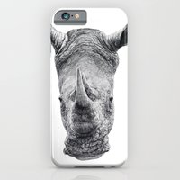 iPhone & iPod Case featuring Rhino by Adam Dunt