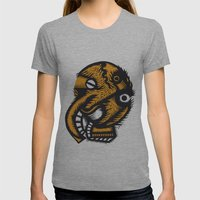 Angel Womens Fitted Tee Athletic Grey SMALL