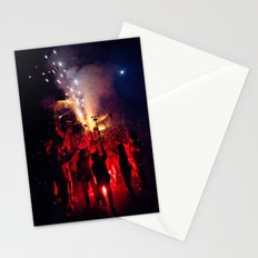 Red Sound Stationery Cards