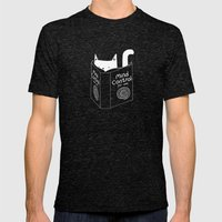 Mind Control 4 Cats Mens Fitted Tee Tri-Black SMALL