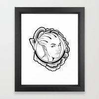 Mass Effect. Liara T'soni Framed Art Print