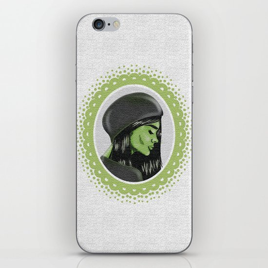 Elphaba iPhone & iPod Skin