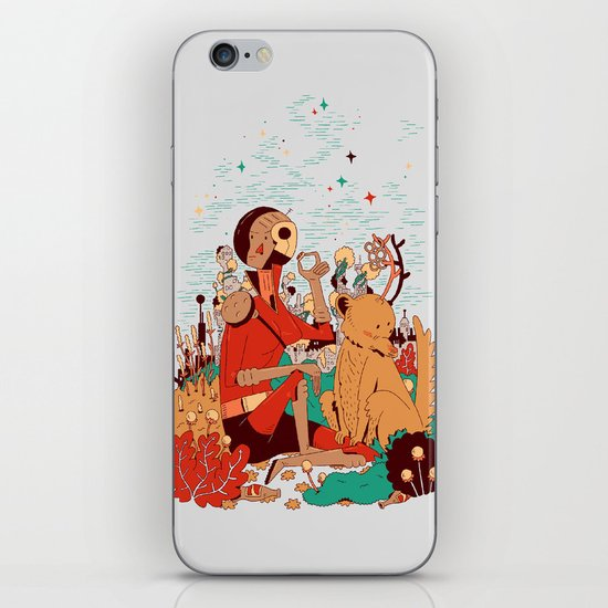 Overgrowth Explorer iPhone & iPod Skin