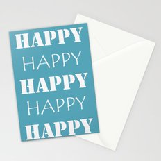 Happy, Happy Stationery Cards