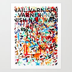 A Study in Unconscious Collaboration Art Print